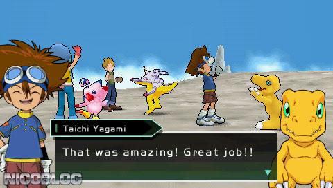 Digimon Adventure PSP English