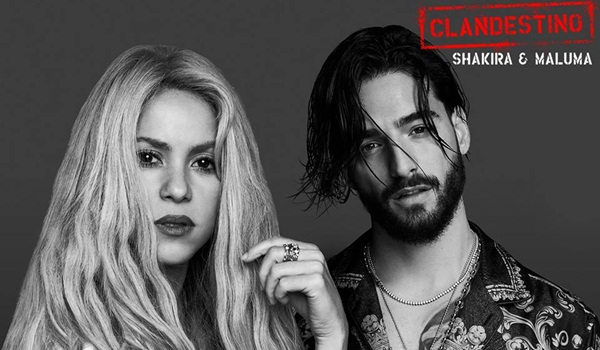 Shakira si Maluma - Clandestino
