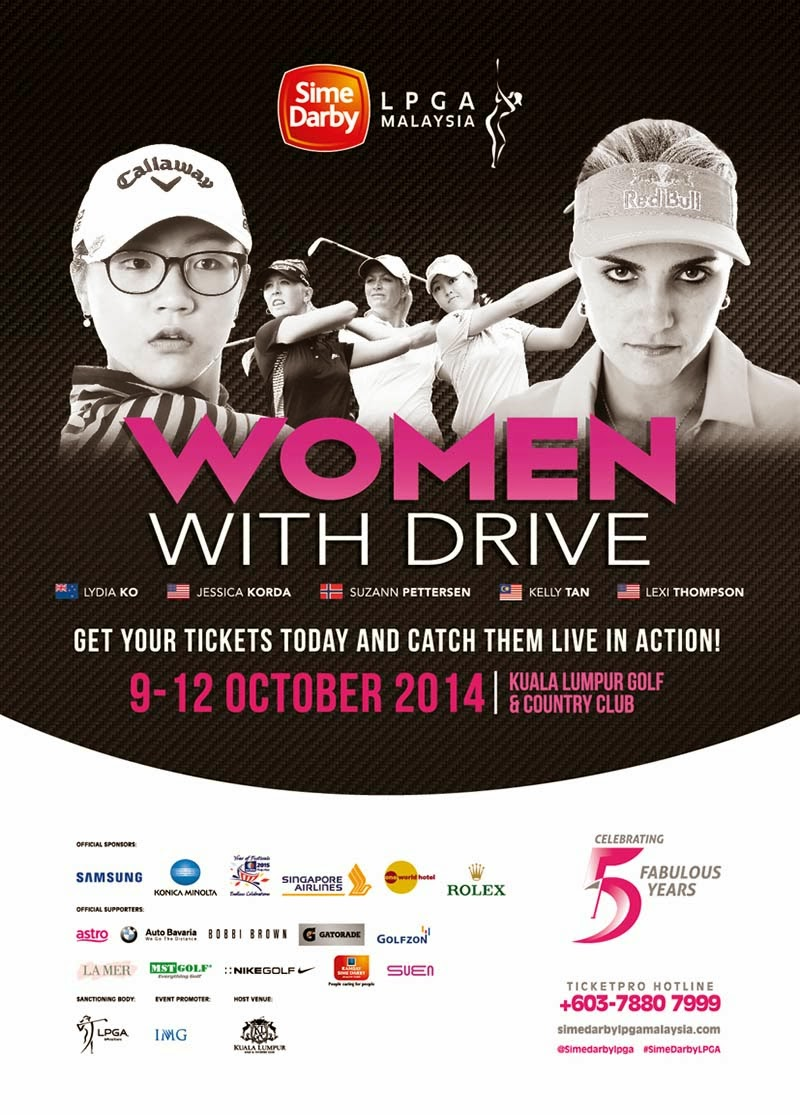 BE Nuffnang ke-7 : Sime Darby LPGA 2014