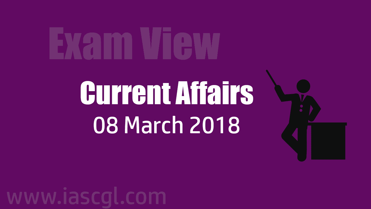 Current Affair 08 march 2018