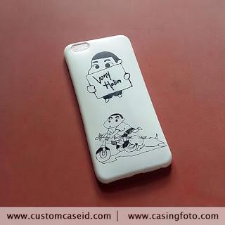 Custom Case Gambar tangan Sinchan