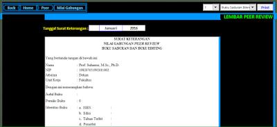 Aplikasi Excel Formulir Pengisian DUPAK Dosen