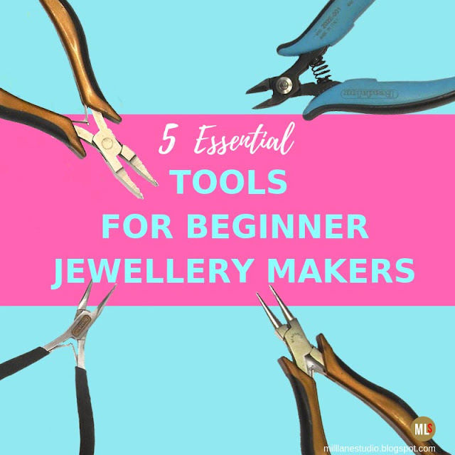 5 essential jewellery making tools for beginners