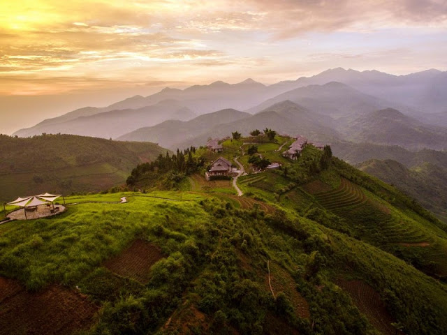 Topas Ecolodge in Sapa is one of the most magnificent eco-lodges in the world revealed