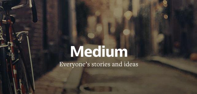 medium blog ile ilgili görsel sonucu