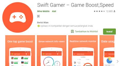 aplikasi mempercepat game anda menjadi lebih optimal