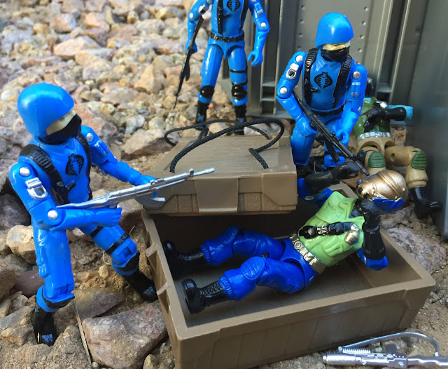 2017 Cobra Soldado, Estrela, Comandos em Acao, Cobra Trooper, Black Major, Factory Custom, Bootleg, Steel Brigade V1, Airborne Chest, Bomb Disposal, Mail Away, 1985, Ammo Dump, Gold Head Steel Brigade