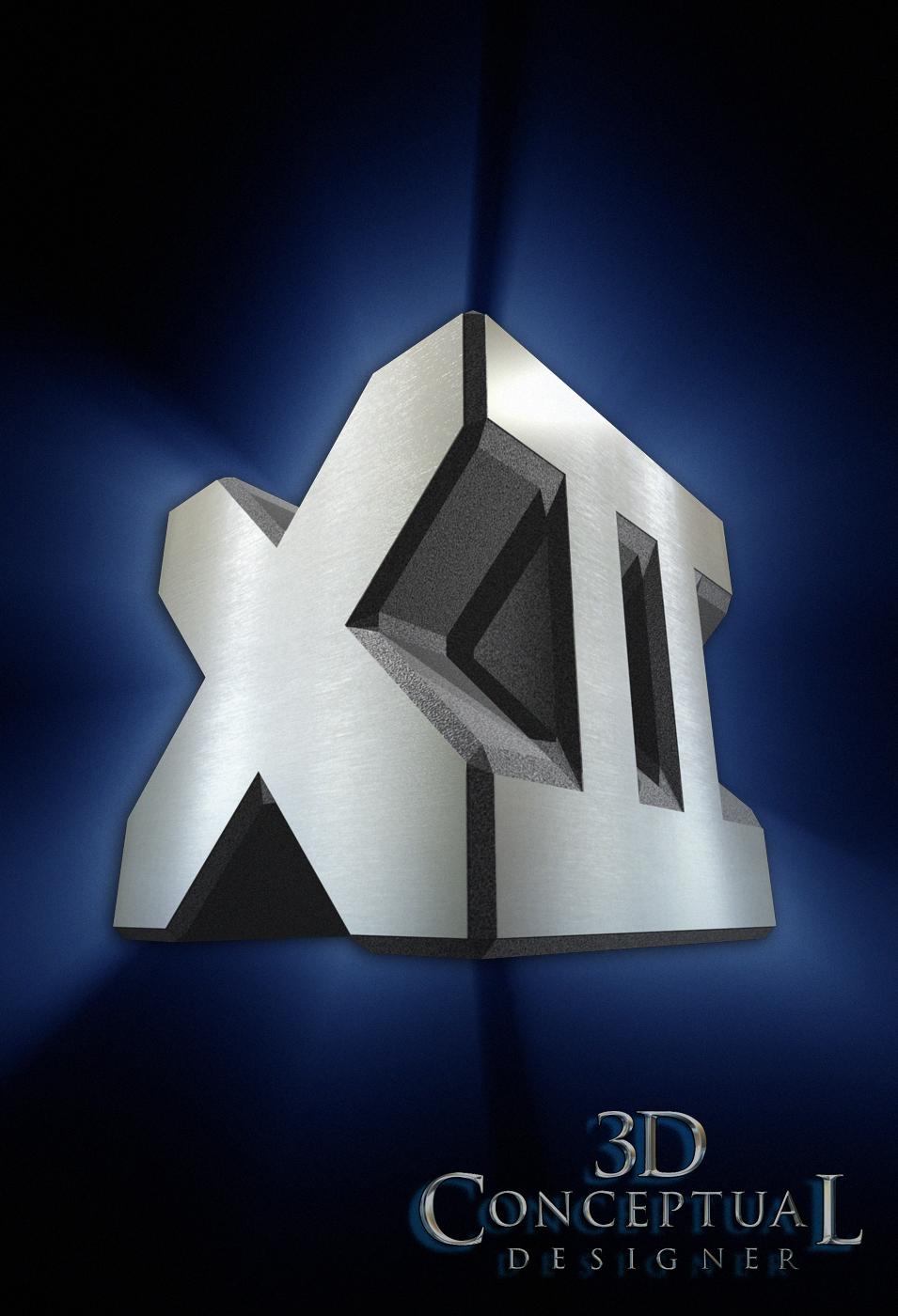 3dconceptualdesignerblog Project Review X Men 2 Part Iv 3d Logo