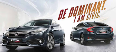 Harga Mobil Honda New Civic Terbaru 2016