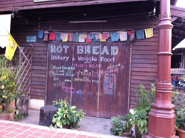 Breakfast in Nan, Thailand