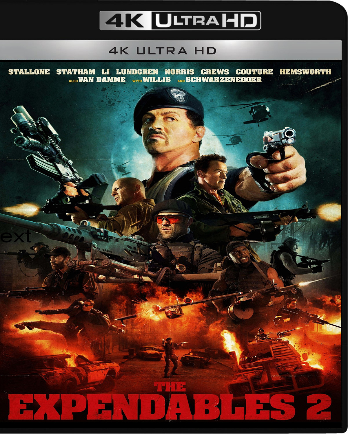 The Expendables 2 [2012] [UHD] [2160p] [Latino]