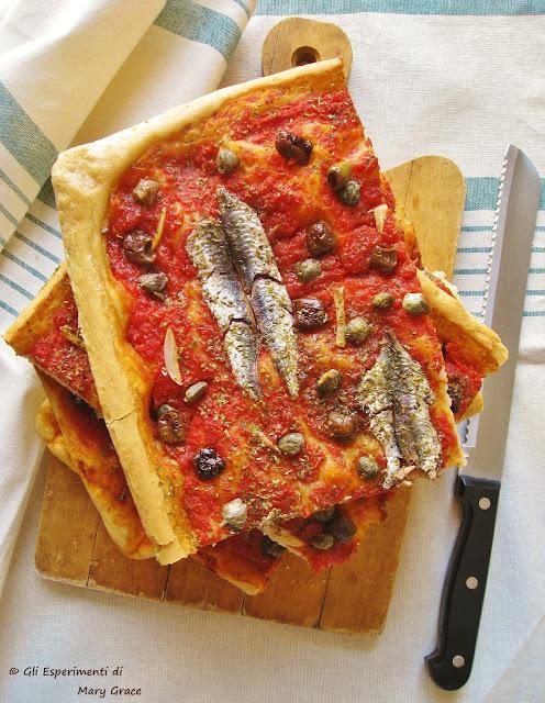 Cucina Ligure. La Sardenaira.