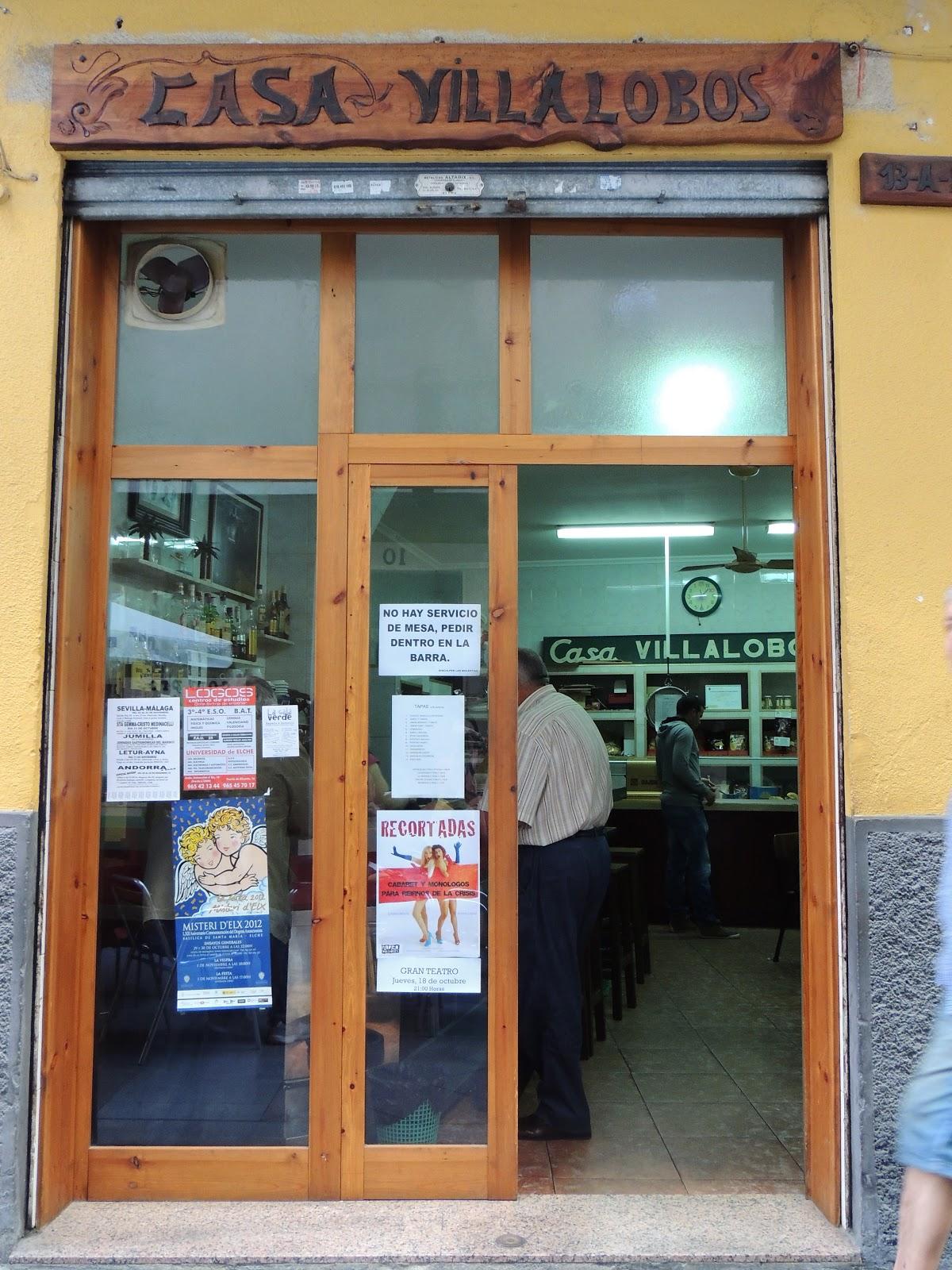 Villalobos  entry