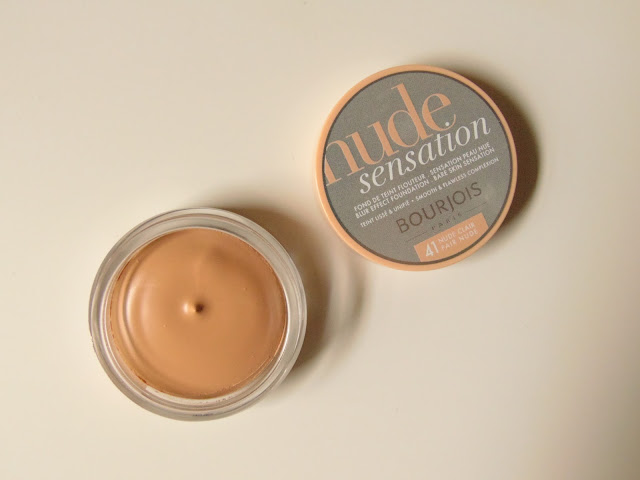 Bourjois Nude Sensation Foundation in the shade no. 41 Nude Clair
