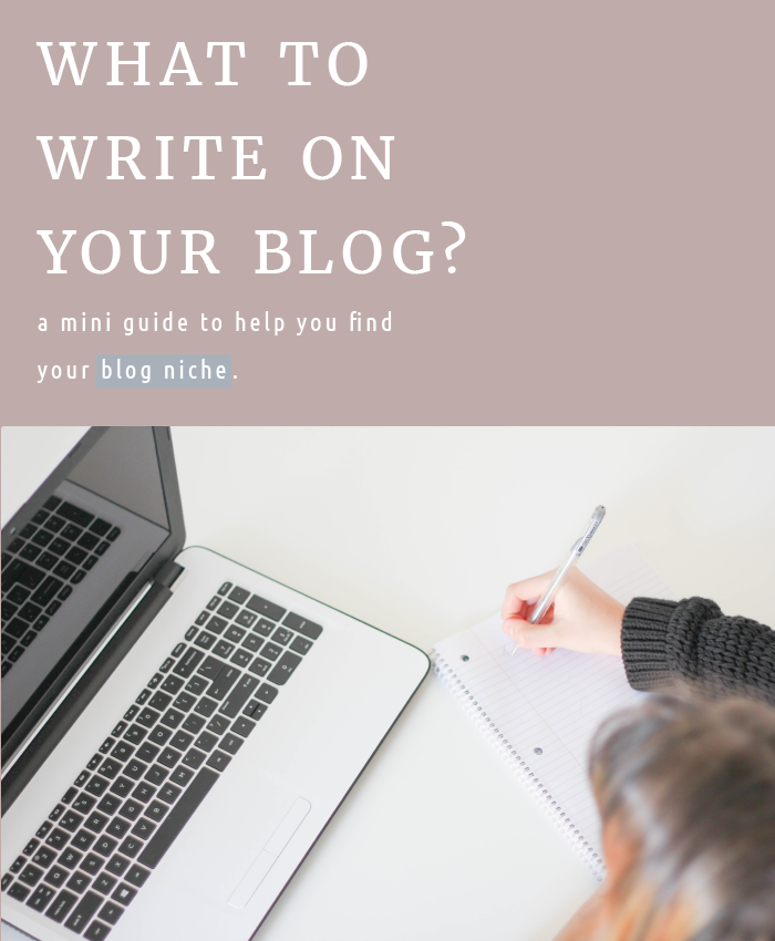 What to write on blog?