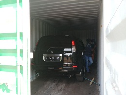 Pengiriman mobil nissan xtrail dari surabaya tujuan nabire