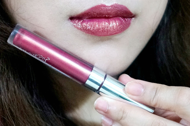 ColourPop Ultra Glossy Lip in Wolfie swatch