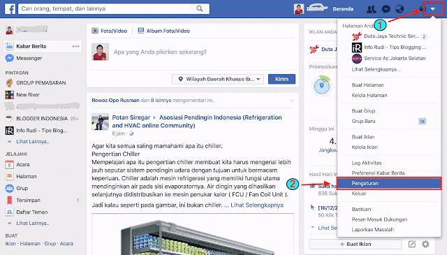 cara menghilangkan virus di akun facebook