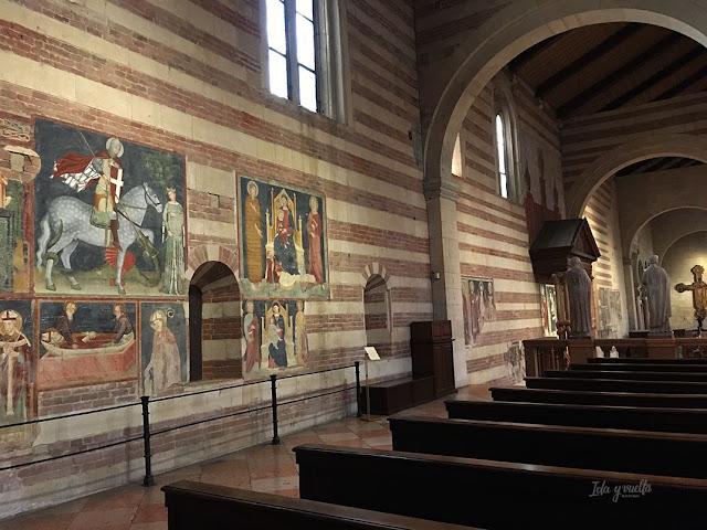 San Zeno Verona parte del ábside