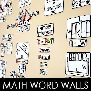5 Ways Math Word Walls Have Changed My Teaching
