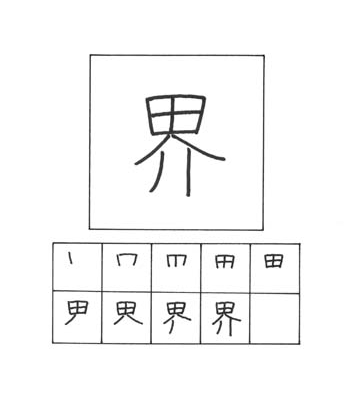 kanji dunia