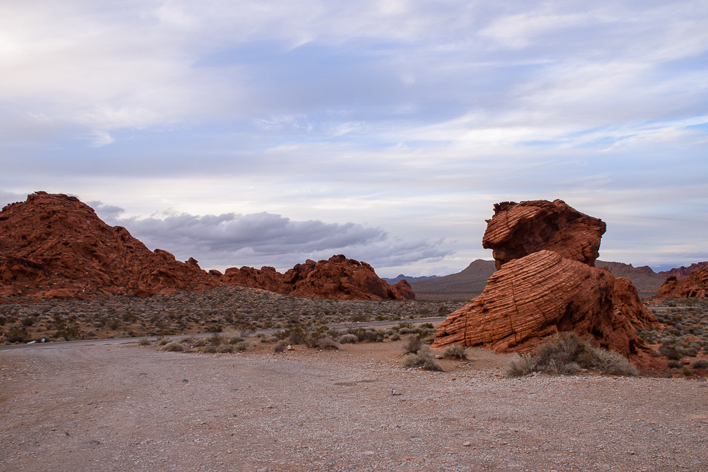 view and landscape photography at valley of fire state park