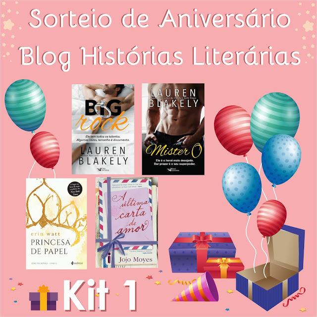 Sorteio - 2 anos de Histórias Literárias