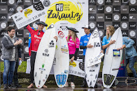 1 Finalists and Winners of the Pro Zarautz pres by Oakley pro zarautz 2018 foto WSL Damien Poullenot