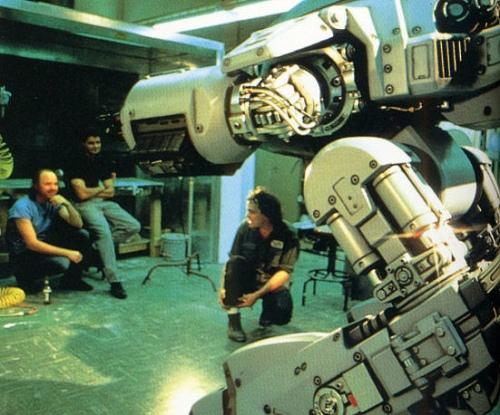 RoboCop detrás de las cámaras