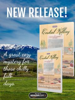 #BookBlitz, #CharacterInterview: Cordial Killing (A Backyard Farming Mystery) by Vikki Walton and Marie's Elderberry Cordial #Recipe