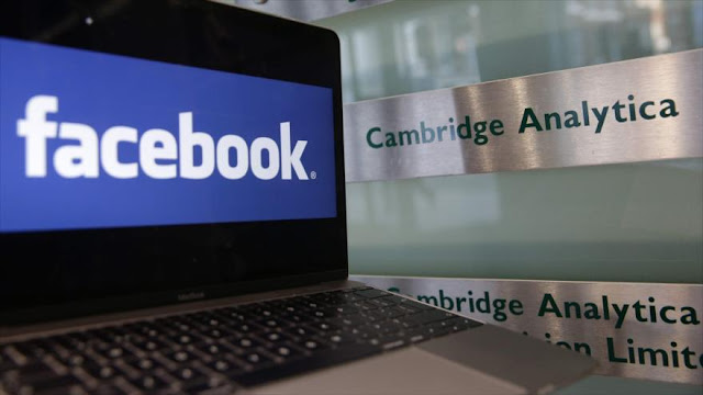 Facebook registra fuerte caída en bolsa por filtración de datos
