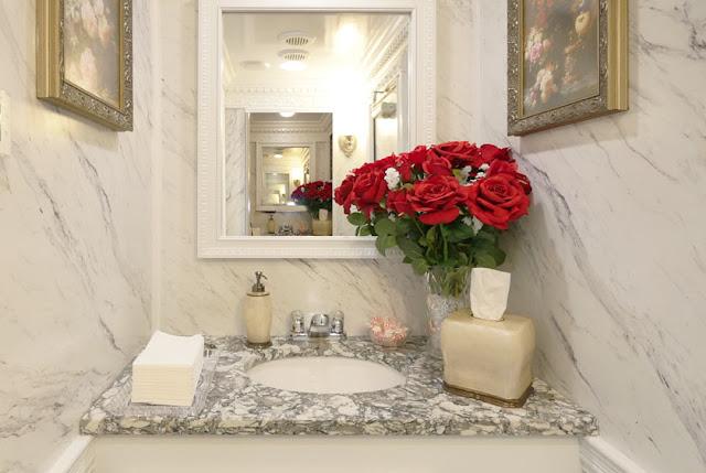 Rosecliff Luxury Restroom Trailer  Vanity