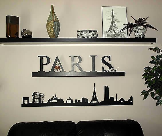 Girls Wallpaper Decals With Eiffel Tower Paris Paris Wall Art