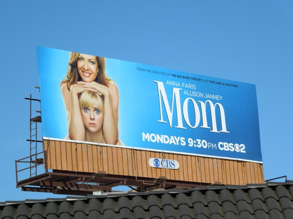 Mom series premiere billboard