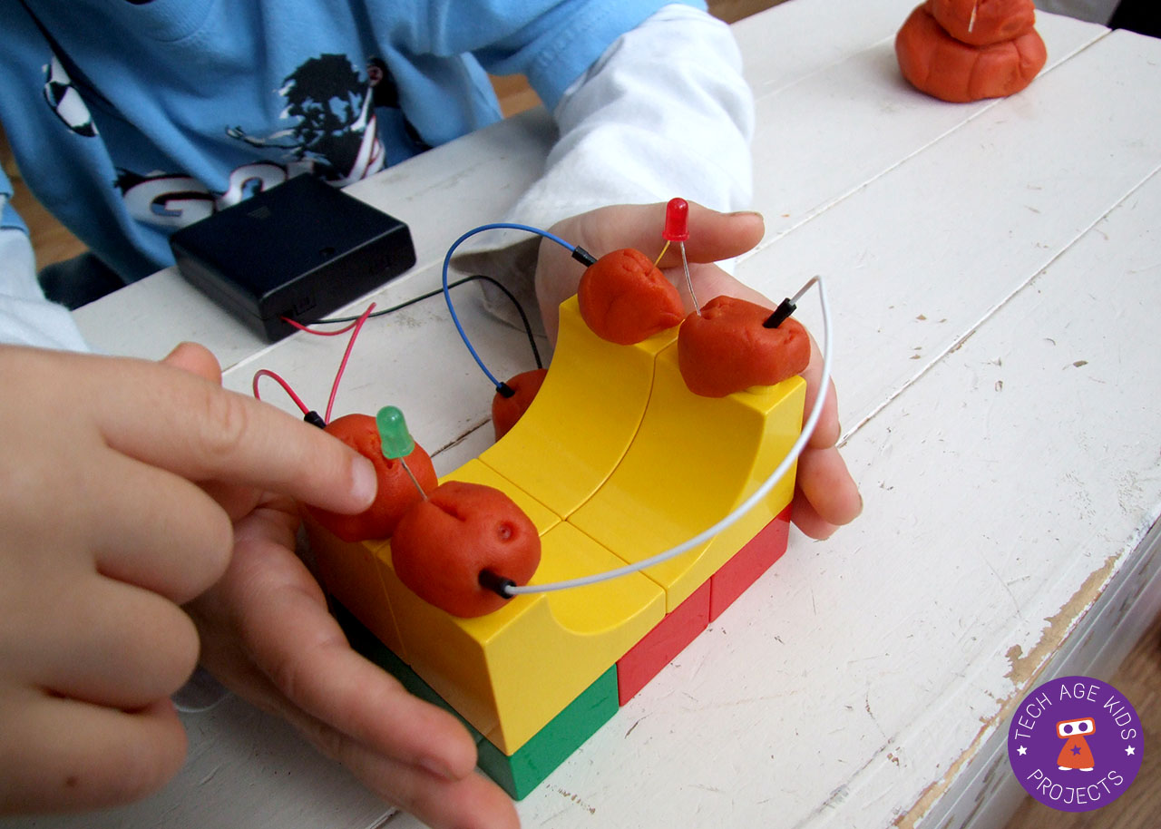 Learn About Circuits Using Electro Dough Squishy Kit Electric Clay Pimp Up My Ramp
