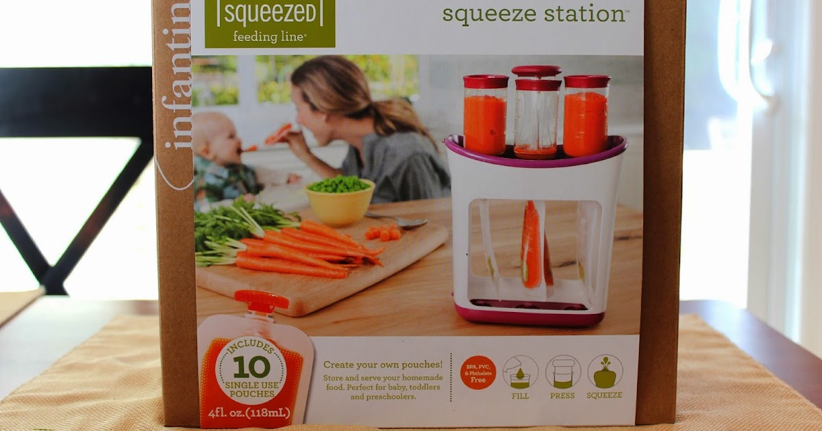 Review Infantino Fresh Squeeze Station The Lovely Sisters