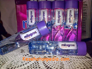 Aturan minum Milagros Miracle Inside
