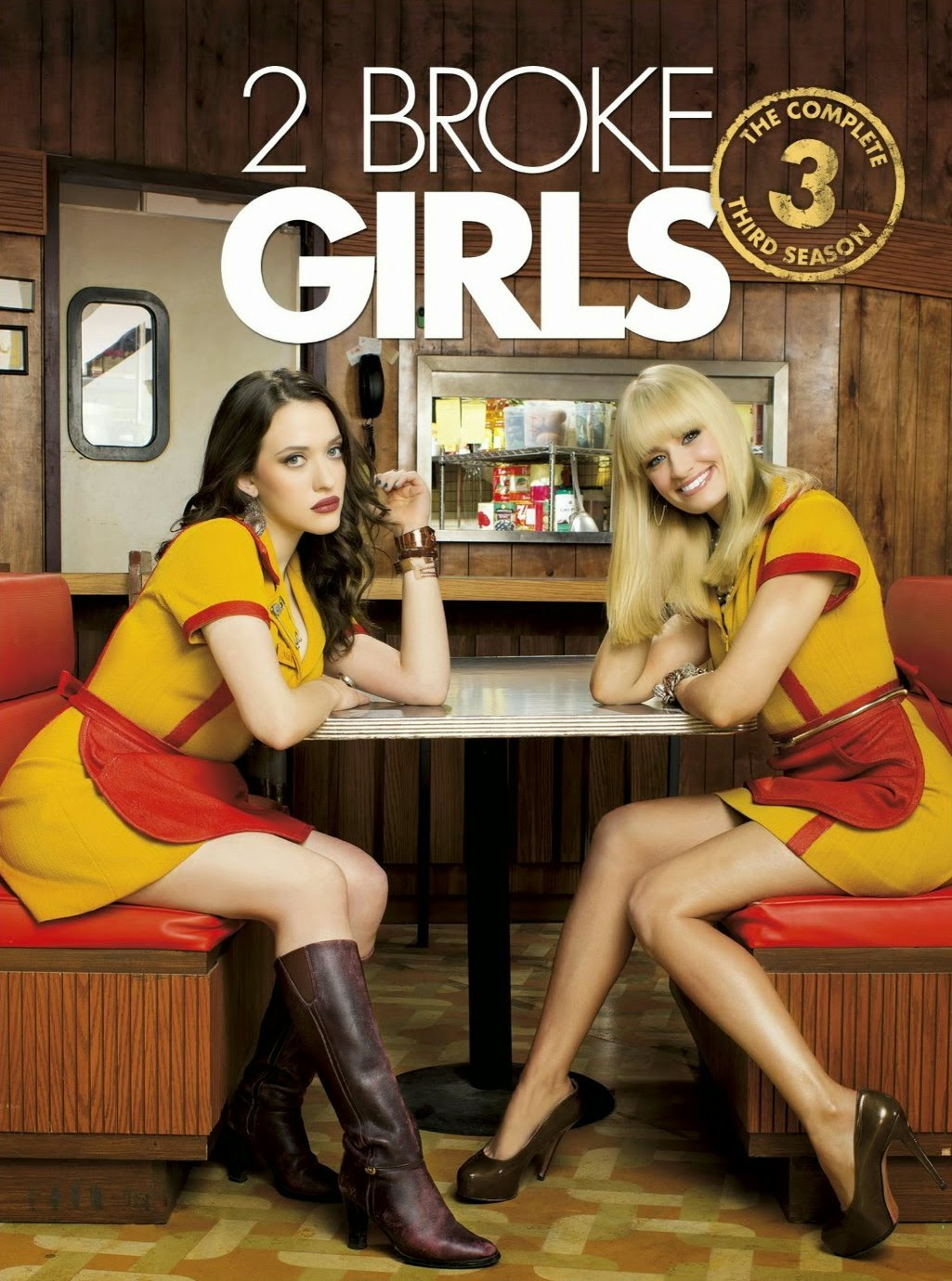 Mega Downloads: Download Mega - 2 Broke Girls 3ª Temporada - Dublado