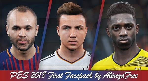PES 2018 First Facepack