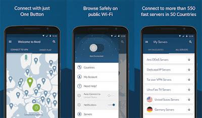 NordVPN VPN Terbaik untuk Android 2019