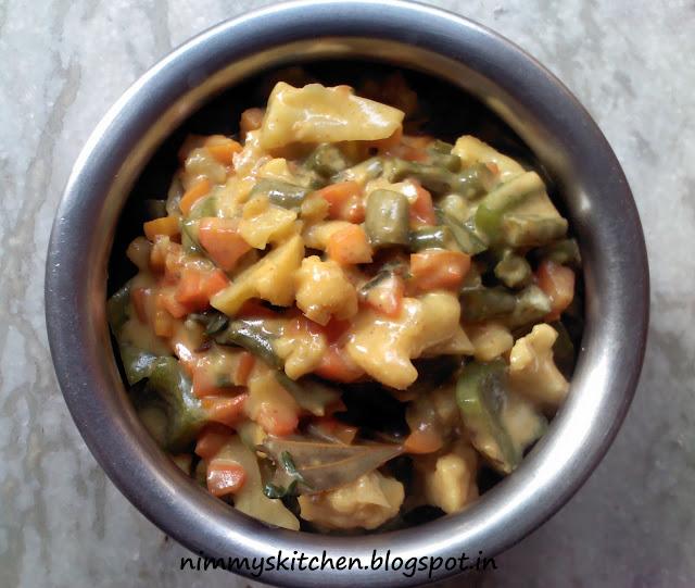 Nimmy's Kitchen: Navratan Korma