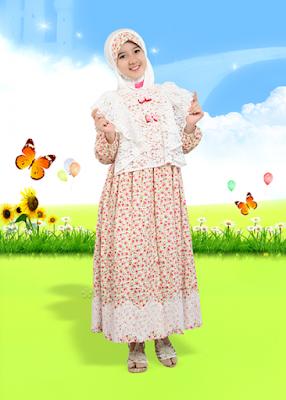baju muslim anak cewek