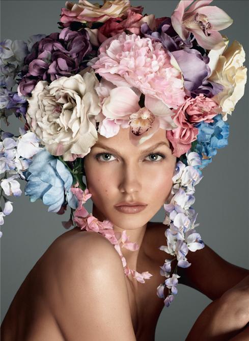Curiouser and Curiouser: Karlie Kloss Blossoms