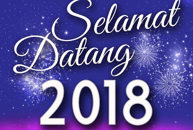 PERUTUSAN SEMPENA TAHUN BARU 2018