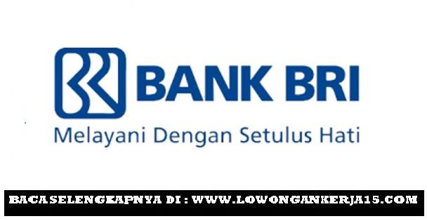 Rekrutmen PT Bank Rakyat Indonesia (Persero) Tbk D3 S1 Semua Jurusan