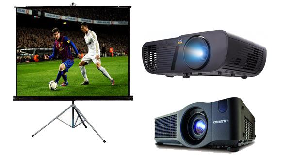 Địa chỉ cho thuê máy chiếu xem bóng đá giá rẻ tại TpHCM