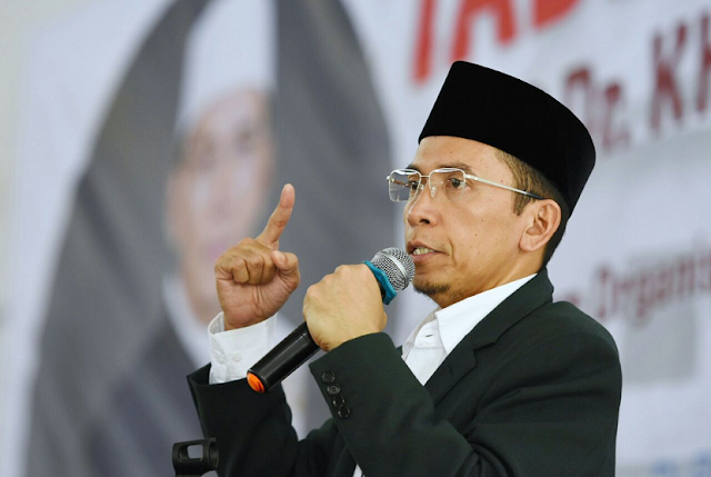 gubernur NTB, Dukung jokowi