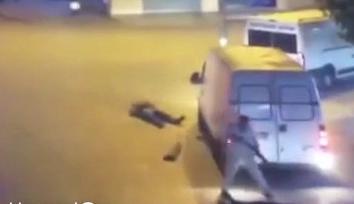 Asesina ados Personas por un incidente de Carretera