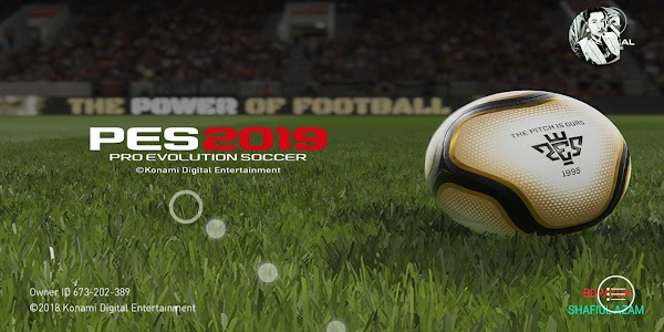 PES 2019 Mobile V3.1.0 Patch New Menu Mod Android Full Kits Updated