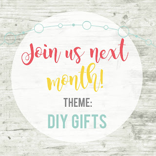 Inspire My Creativity Link Party For November Is DIY Gifts